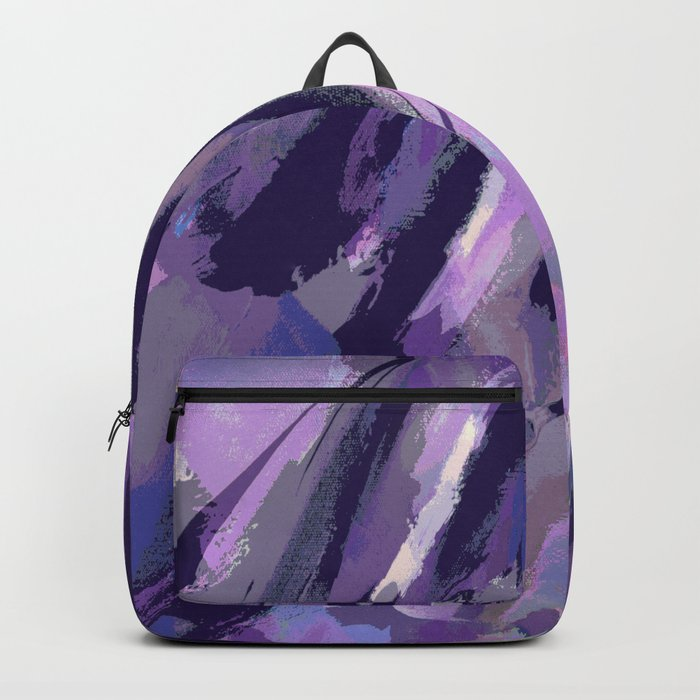 Thunder Plum Abstract Backpack