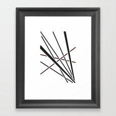 Obliquity 3 Framed Art Print