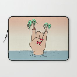 ROCK THE BEACH Laptop Sleeve