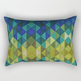 Geometric Spectrum Rectangular Pillow