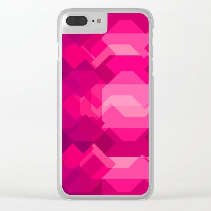 Gemstone - Ruby Clear iPhone Case