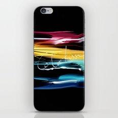 Abstract brush2 iPhone & iPod Skin
