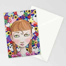 """""""Cute"""" is a Four-Letter Word Stationery Cards"""