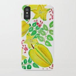 Starfruit Season iPhone Case