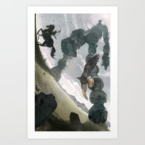 Shadow (Large Format) Art Print