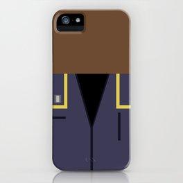 Travis Mayweather - Minimalist Star Trek: Enterprise - Trektangle - Trektangles - startrek - ensign iPhone Case