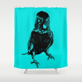 Galileo Silhouette Shower Curtain