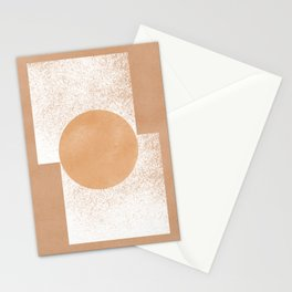Rectangles meet, an extreme minimal approach Stationery Cards
