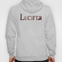 Archangel Lucifer with Feather Dark Hoody
