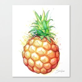 Fat Pineapple 1 Canvas Print