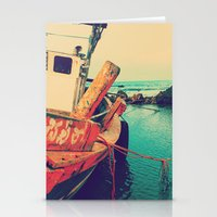 boat Stationery Cards featuring Boat by AJAN