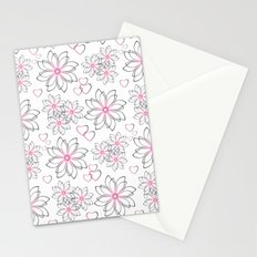 Cute floral pattern. Stationery Cards