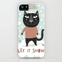 Wintercat iPhone Case