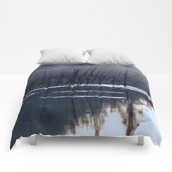 Mists on the Water Comforters