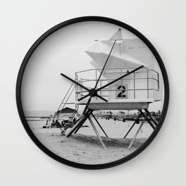 Cali Vibes Wall Clock