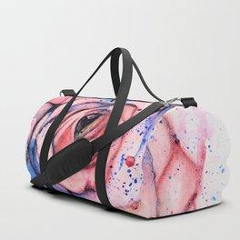 Colorful Rose Duffle Bag