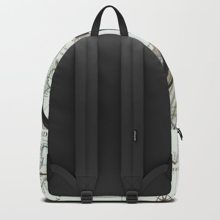 Old Map Backpack