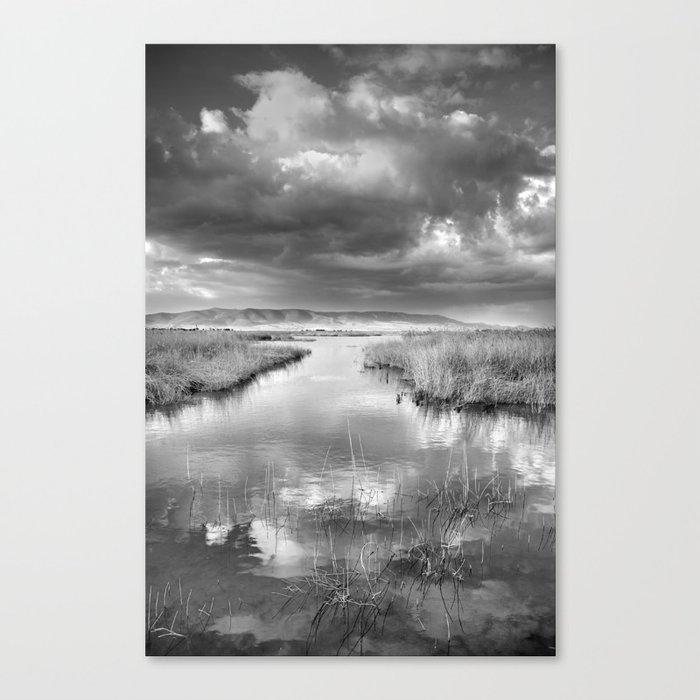Before the big storm Canvas Print
