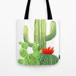 Perfect Cactus Bunch Tote Bag