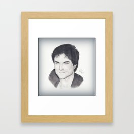 Ian Somerhalder Framed Art Print
