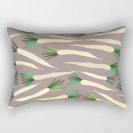 Daikon Radish Carrot Roots Rectangular Pillow