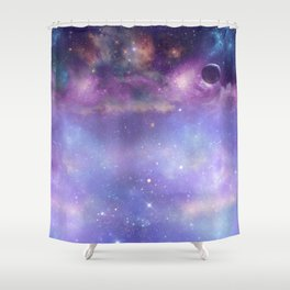 Trip to Neptune Shower Curtain