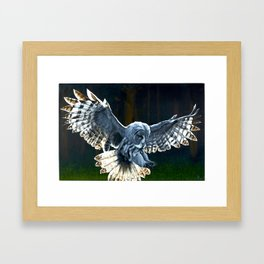 The Watcher on the Wall Framed Art Print