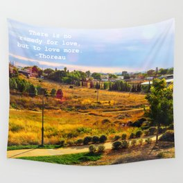 Love As Remedy Wall Tapestry