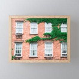 West Village Summer Framed Mini Art Print