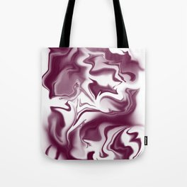 "ABSTRACT LIQUIDS XLII ""42"" Tote Bag"