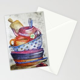 Daily Chores Stationery Cards