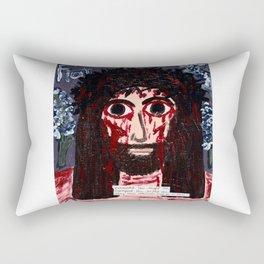 Exhausted You Sought Me... Rectangular Pillow
