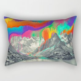 Skyfall, Melting Northern Lights Rectangular Pillow