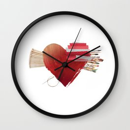 For The Love Of Art Wall Clock