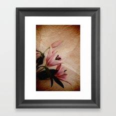 Flowers for a dream Framed Art Print