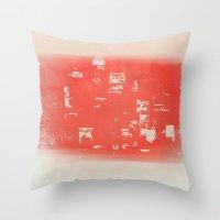 tokyo Throw Pillows featuring Tokyo by Fernando Vieira