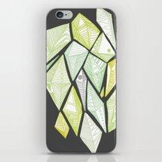 green diamonds iPhone & iPod Skin