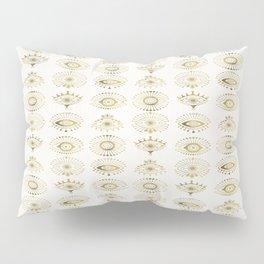 Evil Eyes – Gold Palette Pillow Sham