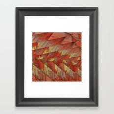 Shattered Again Framed Art Print