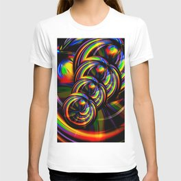 Creations in the color spectrum of the rainbow 3 T-shirt