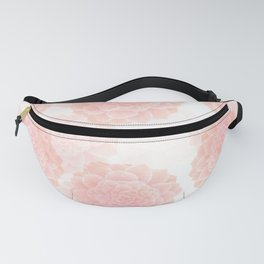 pink succulents Fanny Pack