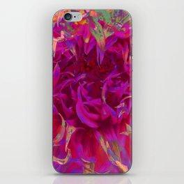 """Extreme Dahlia """"Janny P"""" iPhone Skin"""