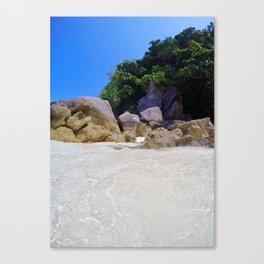 Similan Rocks Thailand Canvas Print