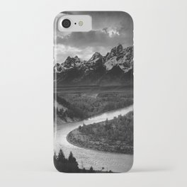 The Tetons and the Snake River  iPhone Case