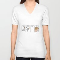 himym V-neck T-shirts featuring HIMYM by Aldo Cervantes Saldaña