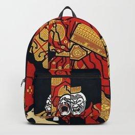 "Art Deco Design ""Mah-Jongg"" Backpack"