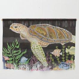 Sea Turtle, Reef Fish Wall Hanging