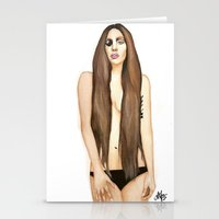 artpop Stationery Cards featuring ARTPOP by Alfonso Aranda