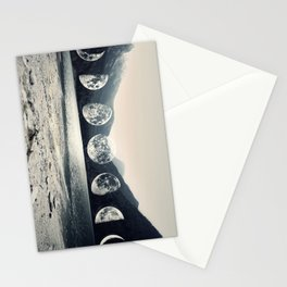 Moonlight Mountains Stationery Cards