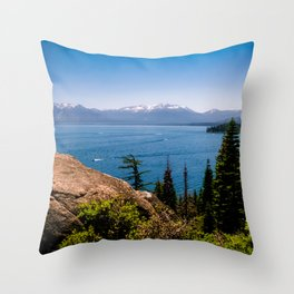 What Lies Beyond the Forest Throw Pillow